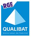 Logo qualibat RGE certification